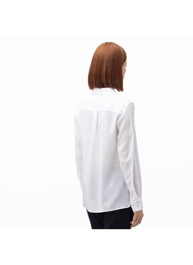 Lacoste Kadın  Gömlek CF0005.05A Beyaz